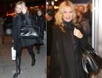 Kate Moss Rocks The New Saint Laurent Classic Duffle '24' Bag