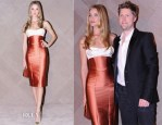 Rosie Huntington-Whiteley In Burberry Prorsum - Burberry Hong Kong Flagship Store Opening