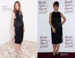 Salma Hayek In Stella McCartney - 2012 British Fashion Awards