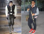 Usher In Thom Browne - London Heathrow Airport