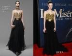 Amanda Seyfried In Alexander McQueen - 'Les Miserables' New York Premiere