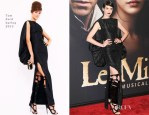Anne Hathaway In Tom Ford - 'Les Miserables' New York Premiere