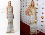 Elle Macpherson In Badgley Mischka - 2013 G'Day USA Black Tie Gala