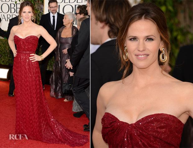 Jennifer Garner In Vivienne Westwood Couture - 2013 Golden Globe Awards