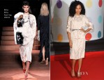 Corinne Bailey Rae In Miu Miu - 2013 Brit Awards