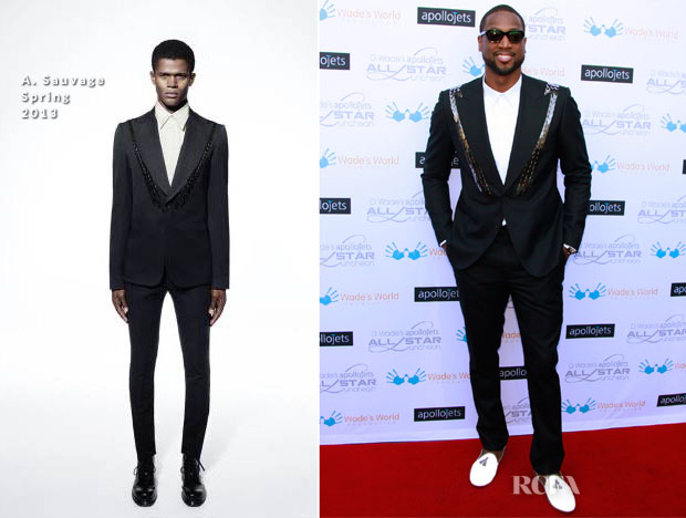 Dwayne Wade In A Sauvage - Apollo Jets All-Star Luncheon