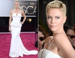 Charlize Theron In Dior – 2013 Oscars