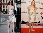 Blake Lively In Roland Mouret - Target Canada Launch