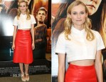 Diane Kruger In Carven & Vanessa Bruno - 'The Host' Barnes & Noble Bookstore Signing