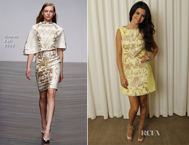 Selena Gomez In Osman - 'Spring Breakers' Press Conference