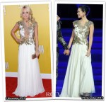 Who Wore Reem Acra Better...Carrie Underwood or Zhang Ziyi?