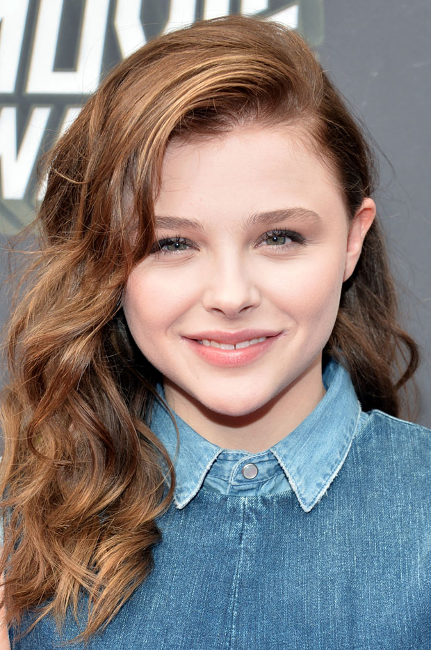 Chloe Moretz 2013 MTV Movie Awards Red Carpet Fashion