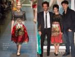 Audrey Tautou In Dolce & Gabbana - 'L'Ecume Des Jours' Paris Premiere