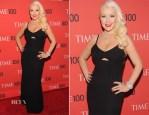 Christina Aguilera In Victoria Beckham - 2013 Time 100 Gala