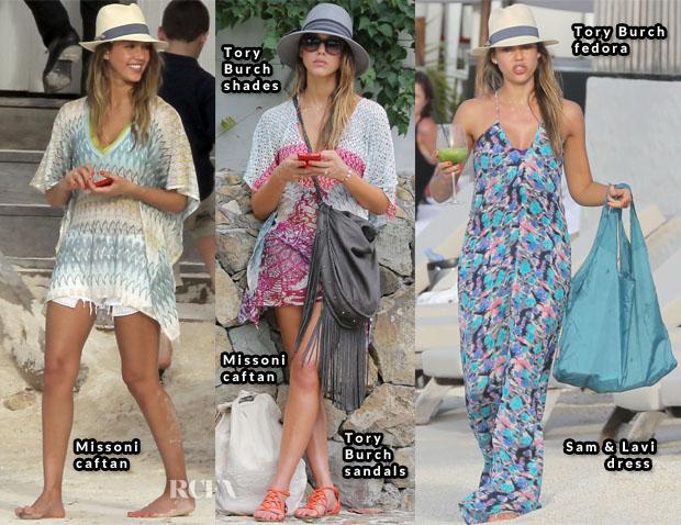 Jessica Alba St Barts style 11