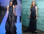 Jessica Biel In Elie Saab - Tiffany & Co. Blue Book Ball