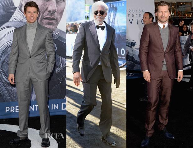 'Oblivion' LA Premiere Menswear Round Up