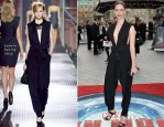 Rebecca Hall In Lanvin - 'Iron Man 3' London Premiere