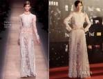 Sammi Cheng In Valentino - 2013 Hong Kong Film Awards