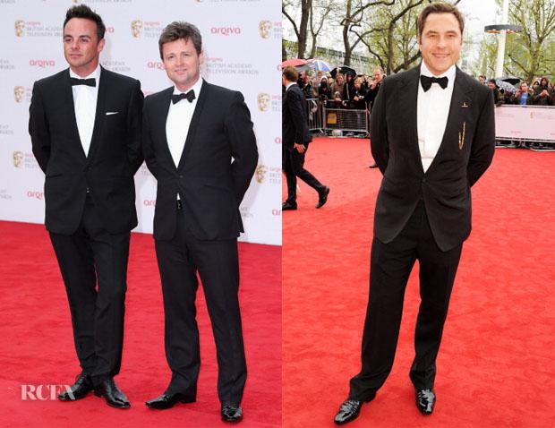British Academy Television Awards 2013 Menswear 2