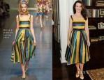 Kristin Davis In Dolce & Gabbana -  P.S. ARTS' Bag Lunch