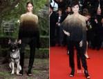 Li Yuchun  In Givenchy Couture - 'All Is Lost' Cannes Film Festival Premiere