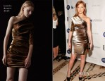 Jessica Chastain In Lanvin - The Fashion Institute of Technology Gala 2013