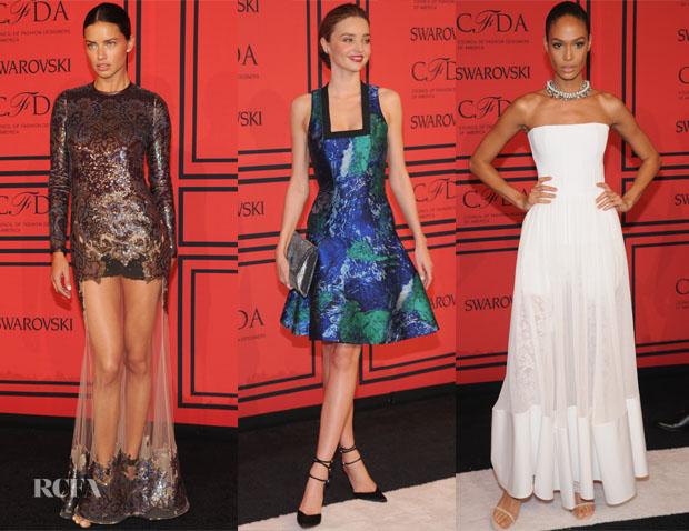 Models @ 2013 CFDA Fashion Awards
