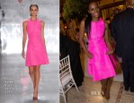 Tika Sumpter In Chado Ralph Rucci - Alvin Ailey American Dance Theater Opening Night