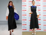 Hayley Atwell In Roksanda Ilincic - Fashion Rules Exhibition