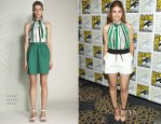 Holland Roden In Raoul & Stella and Jamie - 'Teen Wolf' Press Line: Comic Con 2013