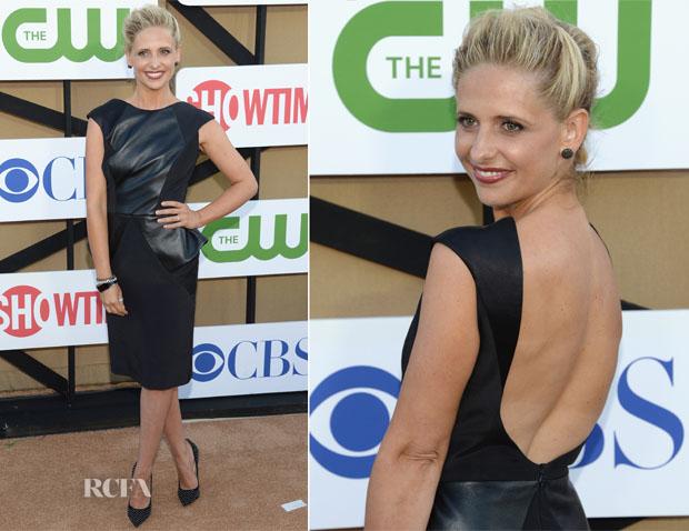 Sarah Michelle Geller In Izmaylova - 2013 Summer TCA Tour & CW, CBS And Showtime 2013 Summer TCA Party