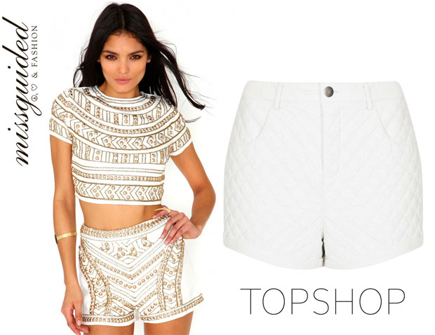 Selena Gomez In Missguided & Topshop