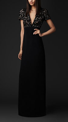 burberry gown