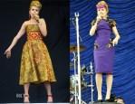 Paloma Faith In Dolce & Gabbana & Julien Macdonald - V Festival