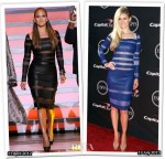 Who Wore Catherine Malandrino Better...Jennifer Lopez or Marisa Miller?