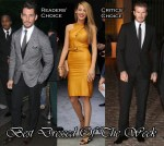 Best Dressed Of The Week - Blake Lively In Gucci, David Gandy In Dolce & Gabbana and David Beckham In Burberry Tailoring