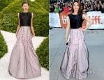 Carice van Houten In Christian Dior Couture -  'The Fifth Estate' Toronto Film Festival Premiere