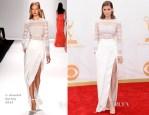 Kate Mara In J. Mendel - 2013 Emmy Awards