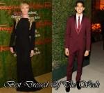 Best Dressed Of The Week - Charlize Theron In Alexander McQueen & Dev Patel In Ferragamo