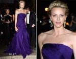 Princess Charlene of Monaco In Ralph Lauren - Ralph Lauren Dinner