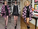 Rita Ora In Moschino Cheap and Chic - Rimmel London: '180 Years Of Cool' Photocall