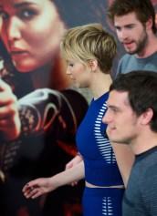 Jennifer Lawrence in Alexander McQueen