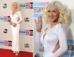 Christina Aguilera In Maria Lucia Hohan - 2013 American Music Awards