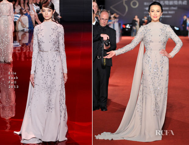 Carina Lau In Elie Saab Couture - 50th Golden Horse Awards