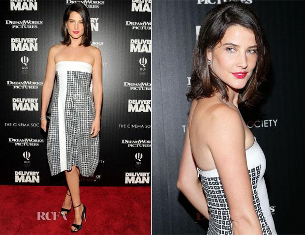 Cobie Smulders In Reed Krakoff - 'Delivery Man' LA Screening