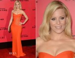 Elizabeth Banks In Versace - 'The Hunger Games: Catching Fire' LA Premiere