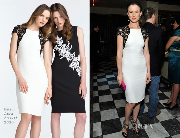Juliette Lewis In Reem Acra - The Weinstein Company's Holiday Party