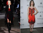 Lily Collins In Givenchy - Flaunt Magazine En Garde! Issue Launch Party