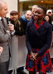Lupita Nyong'o In Miu Miu & Prada - The Today Show
